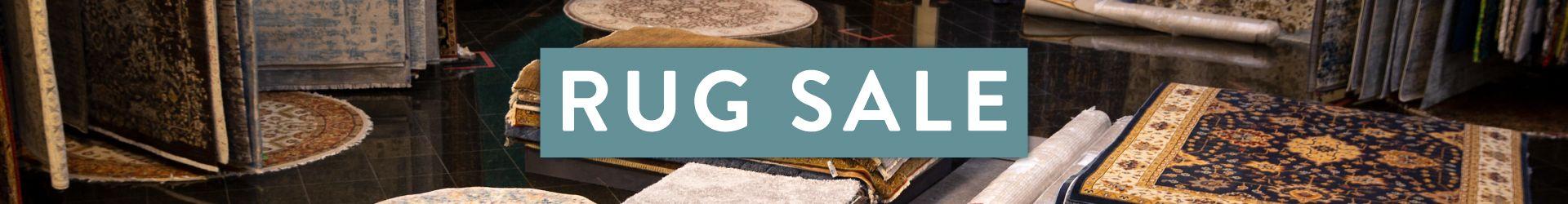 rug sale banner