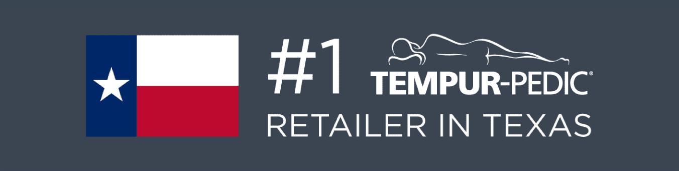 #1 Tempur-Pedic retailer in Texas