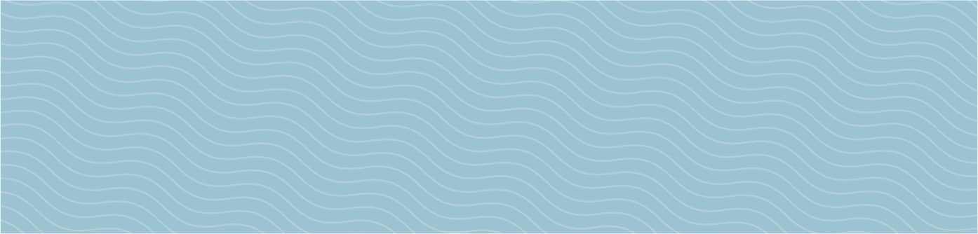 Tempur-Pedic wave pattern in blue