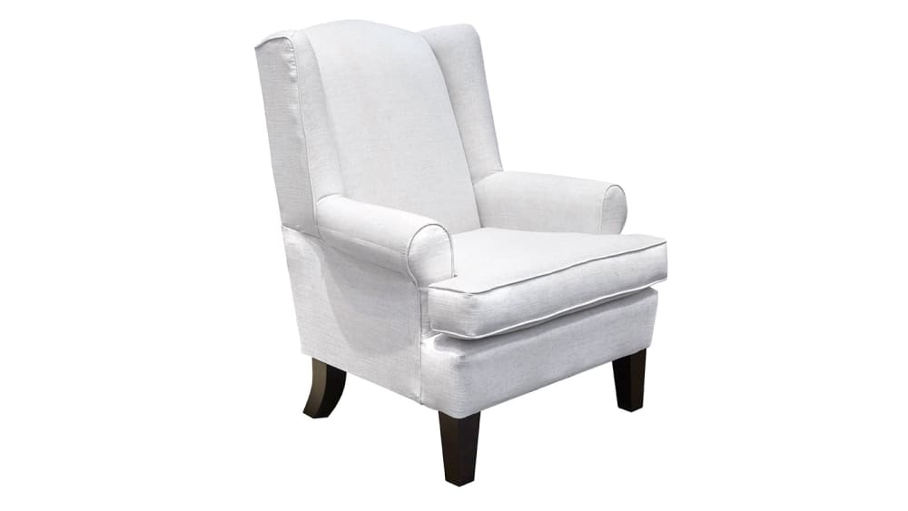 Amelia Flax Wing Chair, , hi-res
