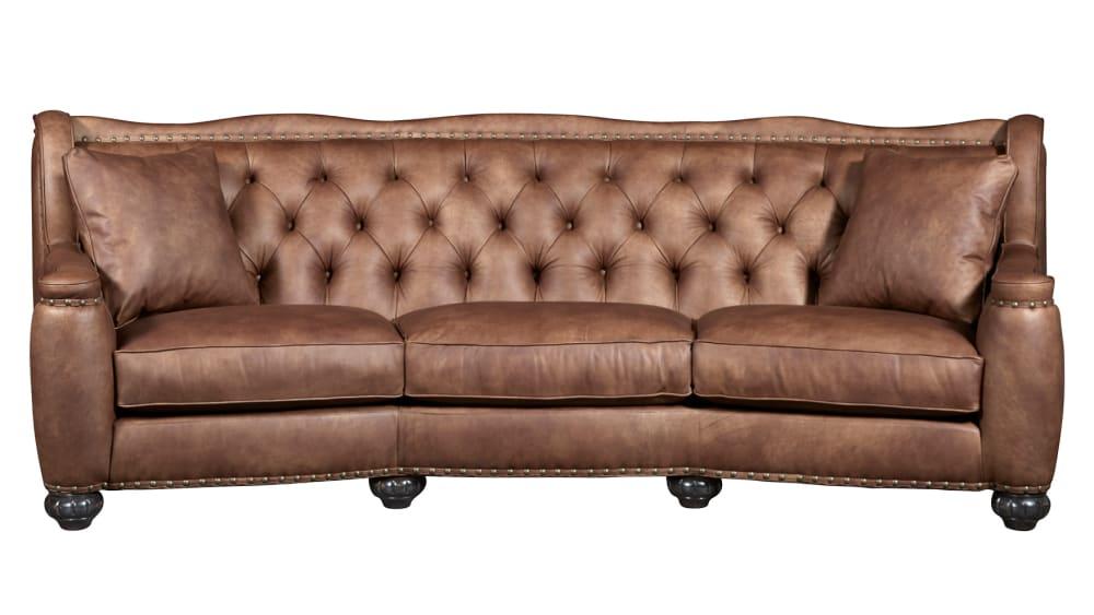 Chelsea Rustic Charm Leather Sofa, , hi-res