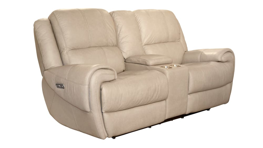 American Power Reclining Loveseat W/Console, , hi-res