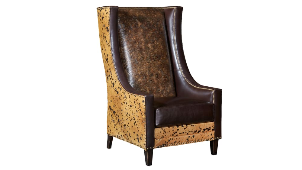 Derby Thoroughbred Leather Chair, , hi-res