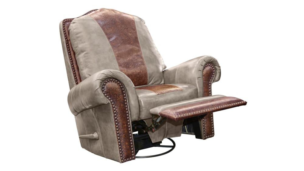 High Plains Chaparral Leather Recliner, , hi-res