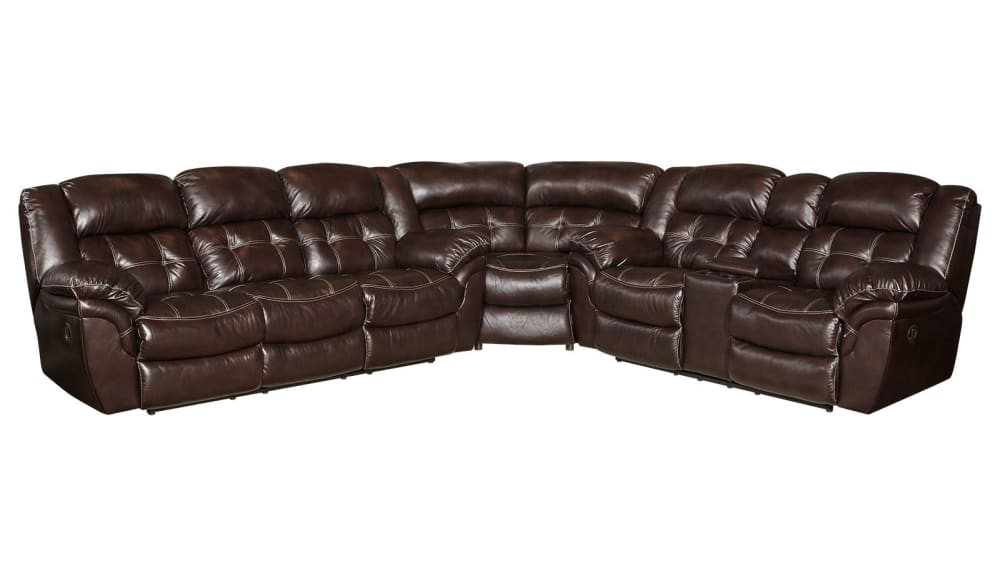 Achieve Reclining Sectional, , hi-res