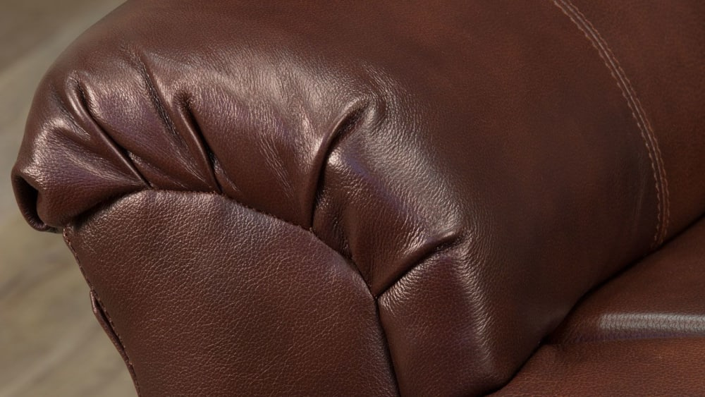Brown Leather Match Power Lift Chair, , hi-res