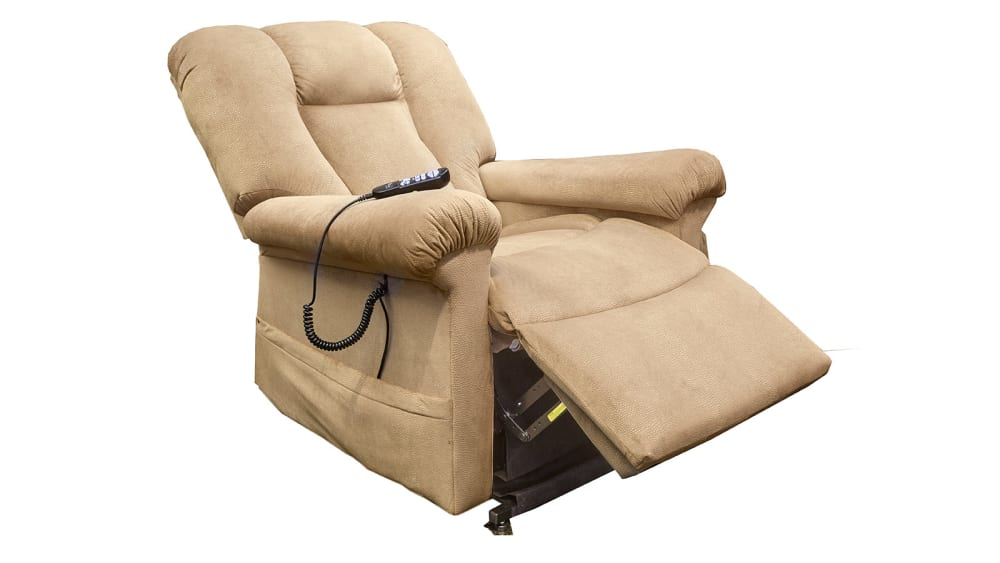 Beige Power Lift Chair, , hi-res