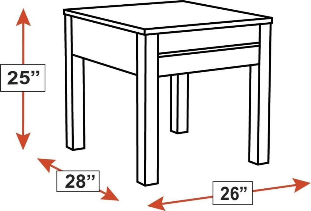 Stickley Modern Loft Rectangle End Table, , hi-res