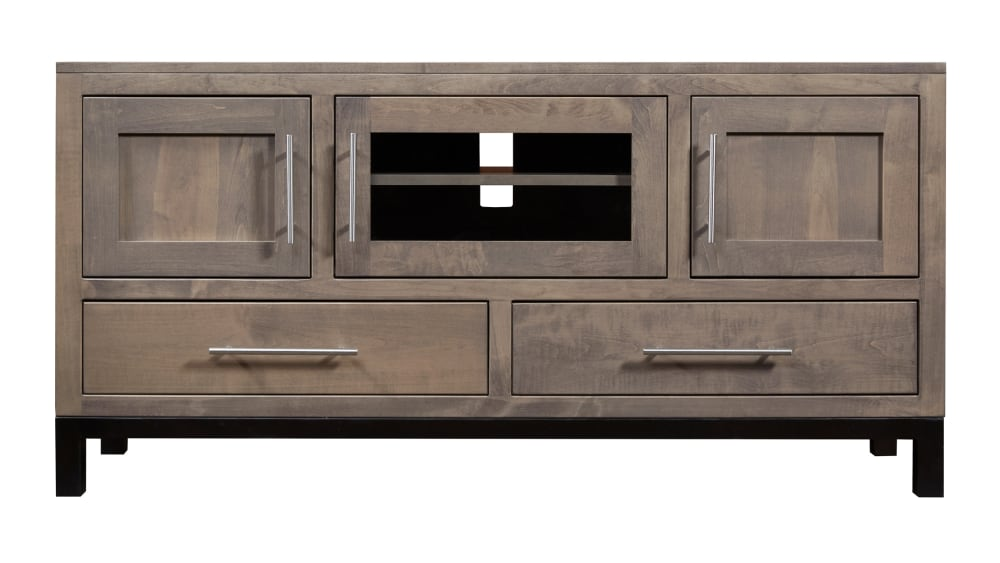 """Driftwood Two-Tone 60"""" TV Stand, , hi-res"""