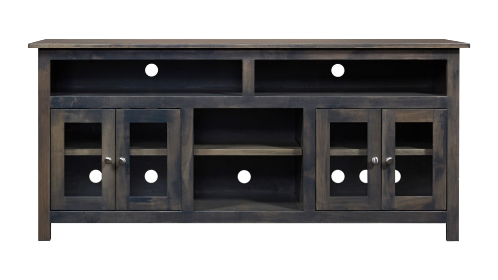 "Mission 72"" Slate TV Stand, , hi-res"