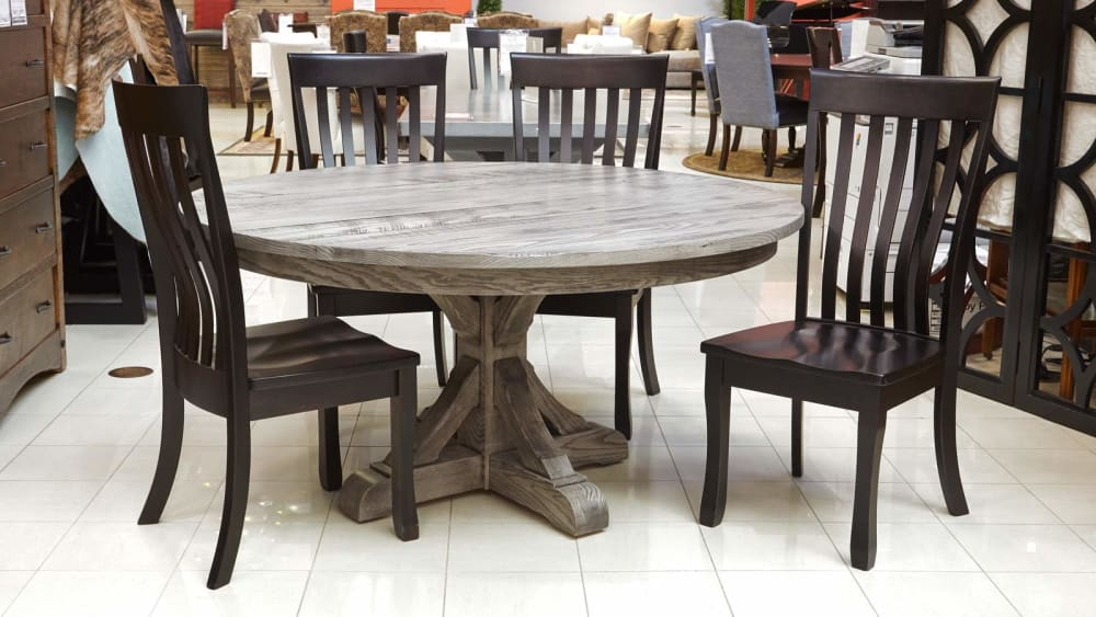 Harlingen Round Table with Longview Chairs, , small