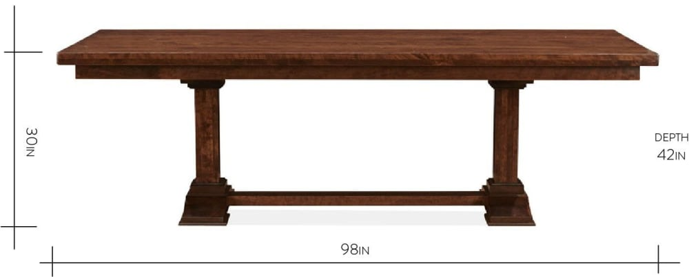 Dripping Springs Dining Table, , hi-res