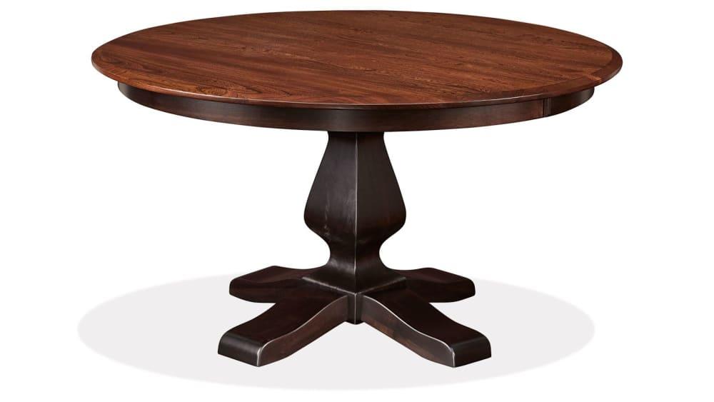 """Weston 54"""" Round Two-Tone Table, , hi-res"""
