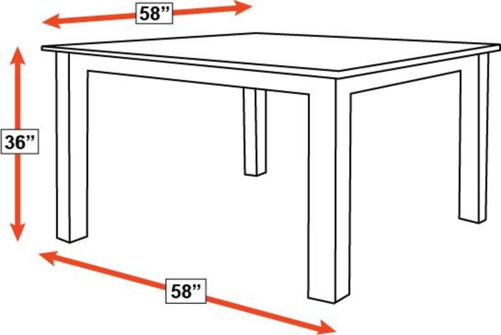 """Brunswick 58"""" Pub Table, , hi-res"""