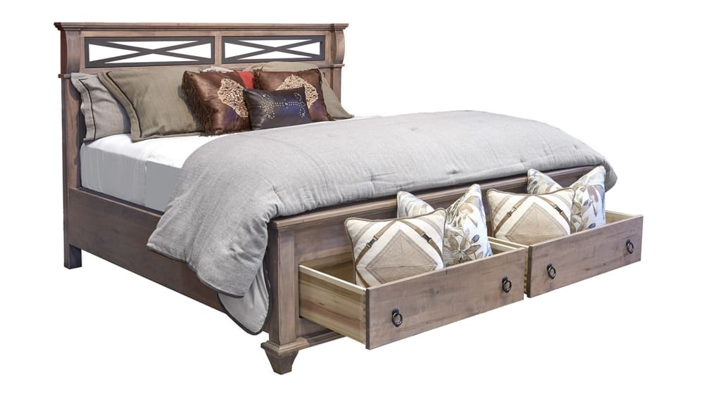 Reminisce Driftwood King Bed, , hi-res