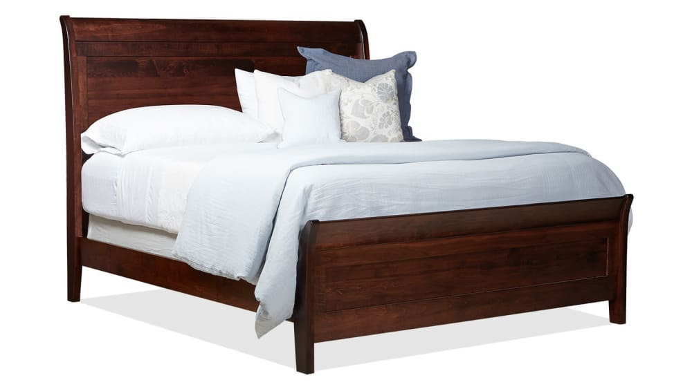 Rockdale Brown Maple Queen Bed, , hi-res