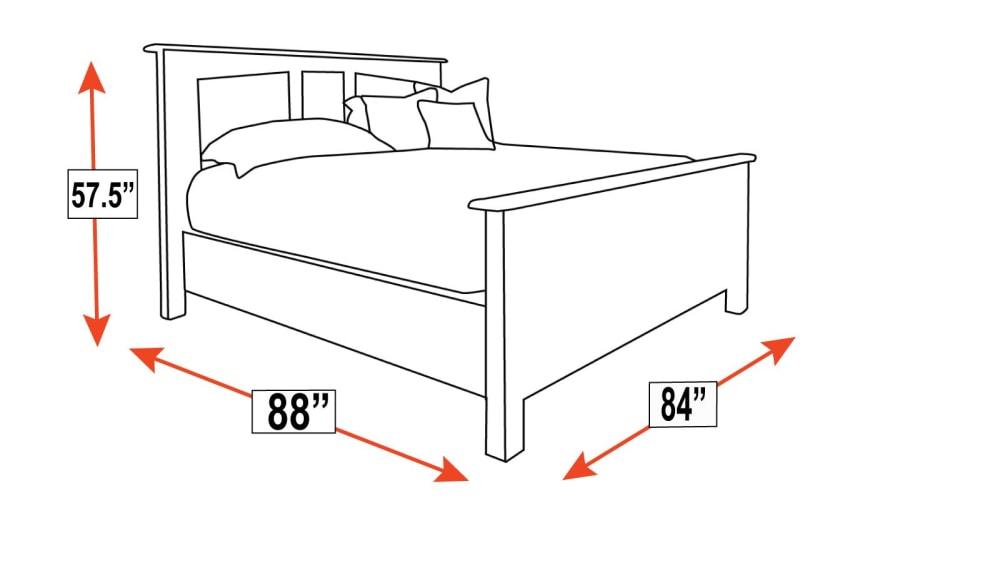 Caldwell King Bed, , hi-res