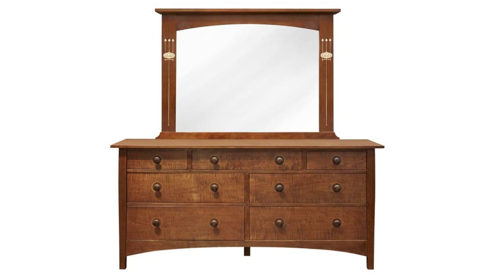 Stickley Harvey Ellis Dresser & Mirror, , hi-res