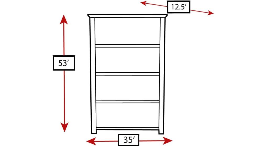 Turkey Creek Black Bookcase, , hi-res