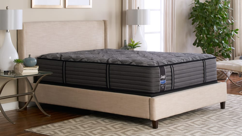 Queen Size Sealy GF 365 Cushion Firm Mattress, , hi-res