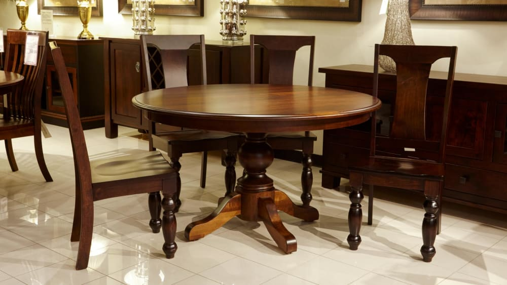 Baytown Round Table with Americana Side Chairs, , small
