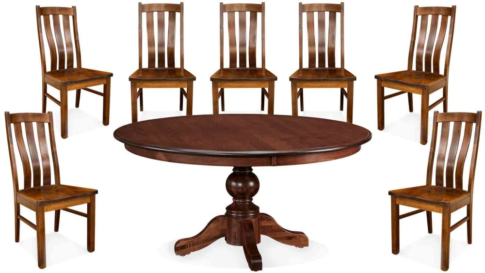 """Baytown 60"""" Bishop Seven-Chair Dining Set, , small"""