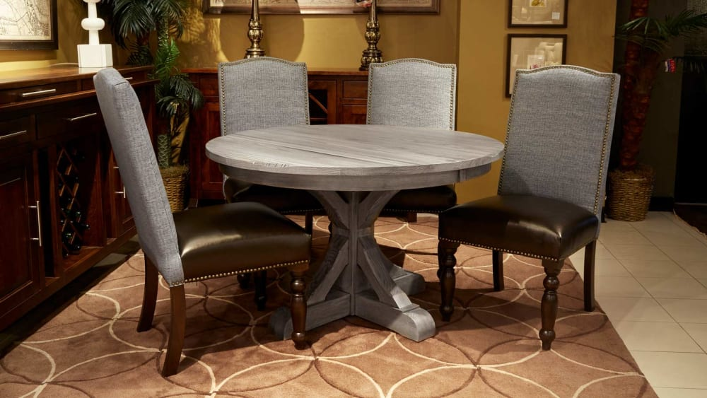 "Settlers 48"" Round Table with Vanderbilt Chairs, , small"