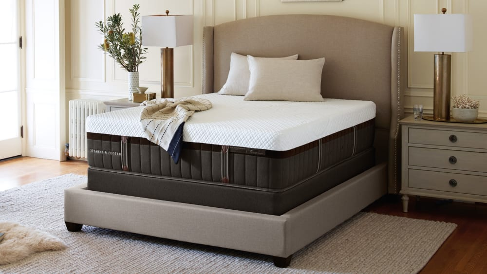Queen Size Sterns and Foster La Campania Firm Mattress, , hi-res