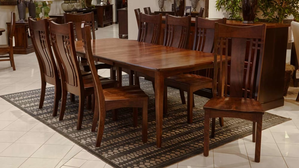 Verdi Expanding Dining Table with Chandler Side Chairs, , large