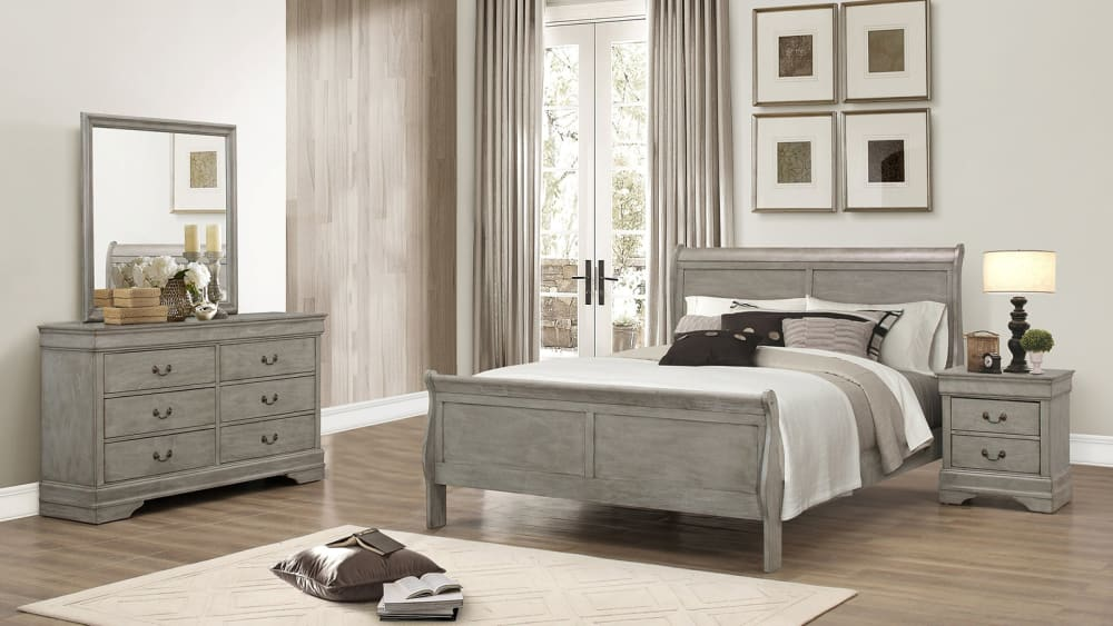 Import Louis King Bedroom Set, , small