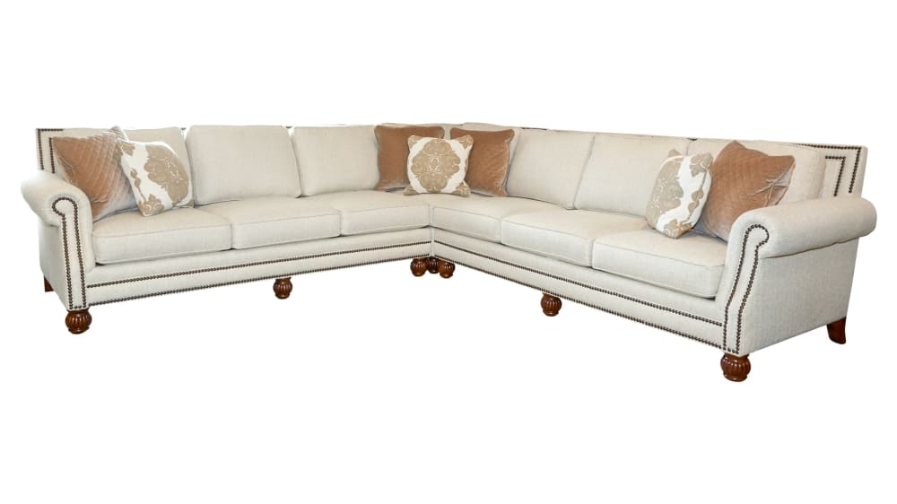 Runaround Khaki Sectional, , hi-res