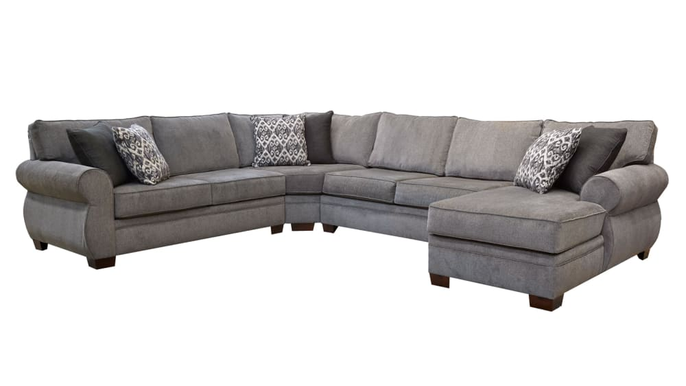 Ashford Grey Right Side Facing Sectional, , hi-res