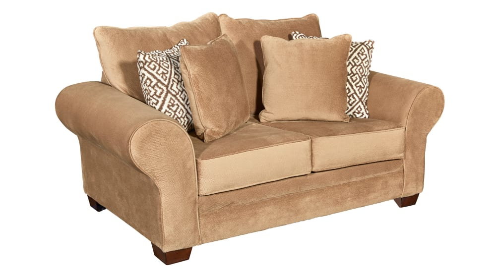 Smithfield Tan Loveseat