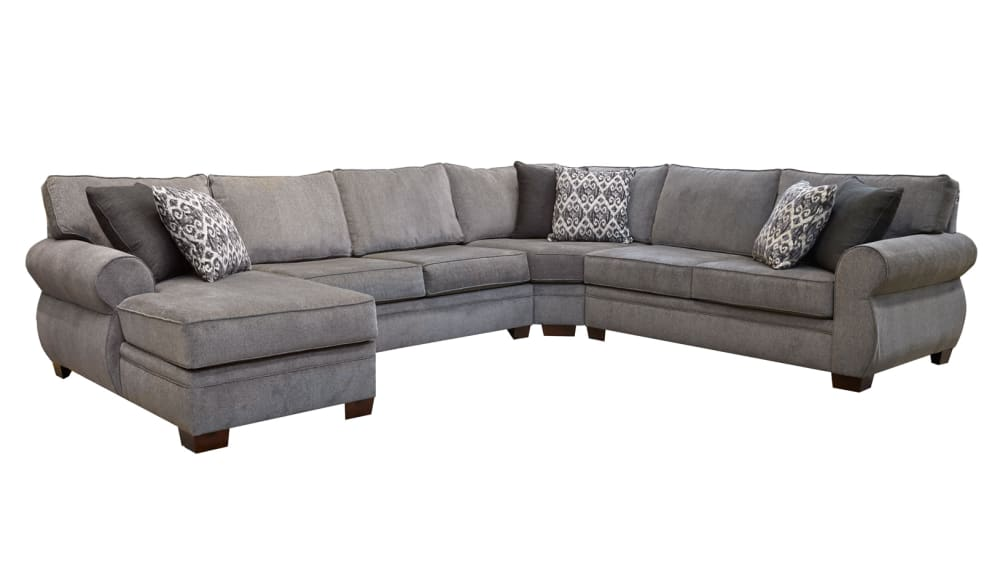 Ashford Grey Left Side Facing Sectional, , hi-res