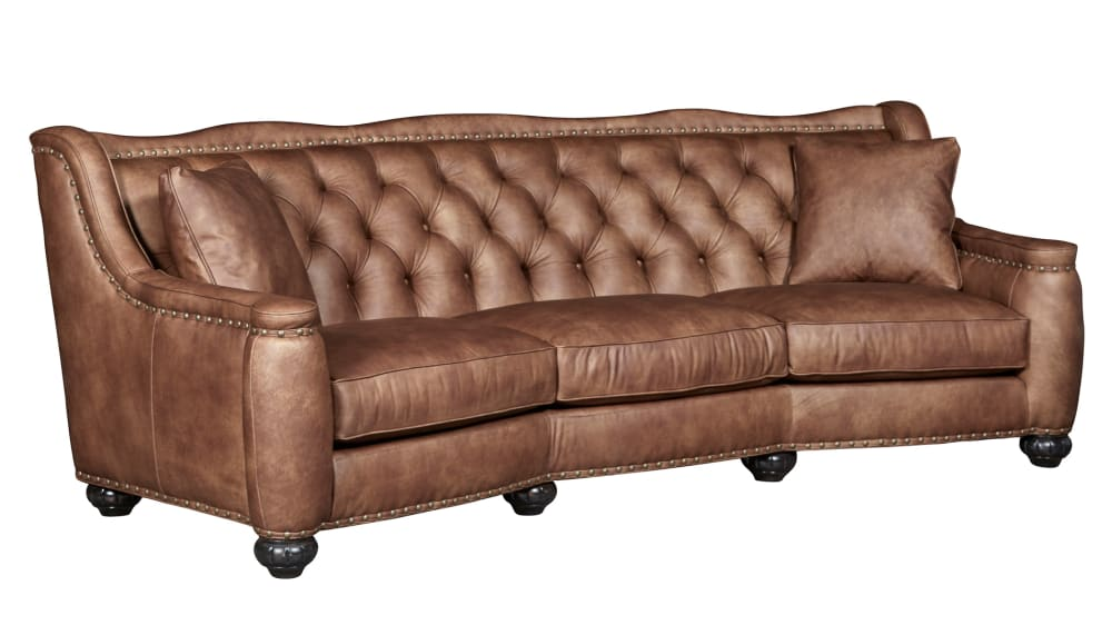 Chelsea Rustic Charm Leather Sofa, , hi-res