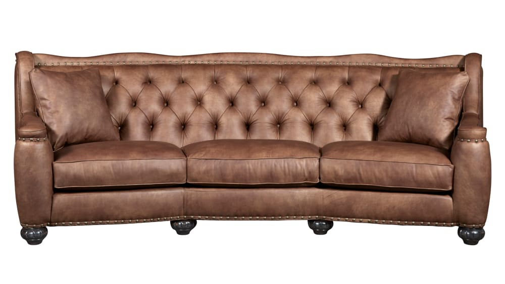 Chelsea Rustic Charm Leather Sofa
