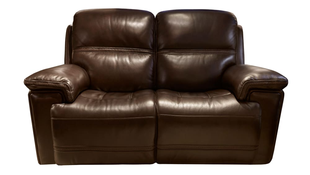 Secretariat Burgundy Power Reclining Loveseat