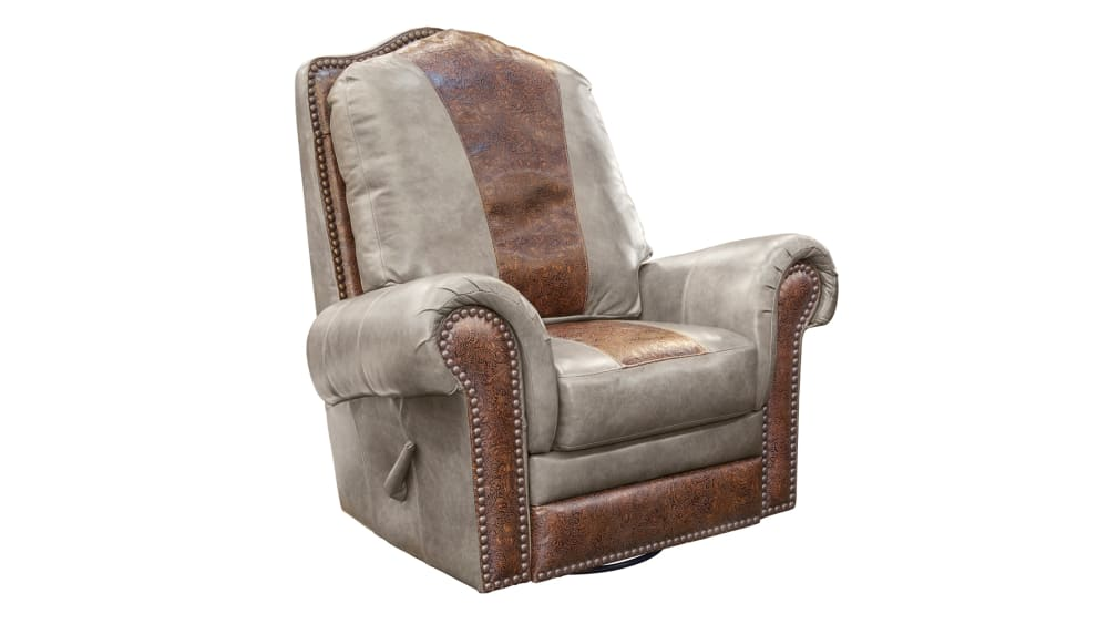 High Plains Chaparral Leather Recliner, , hi-res