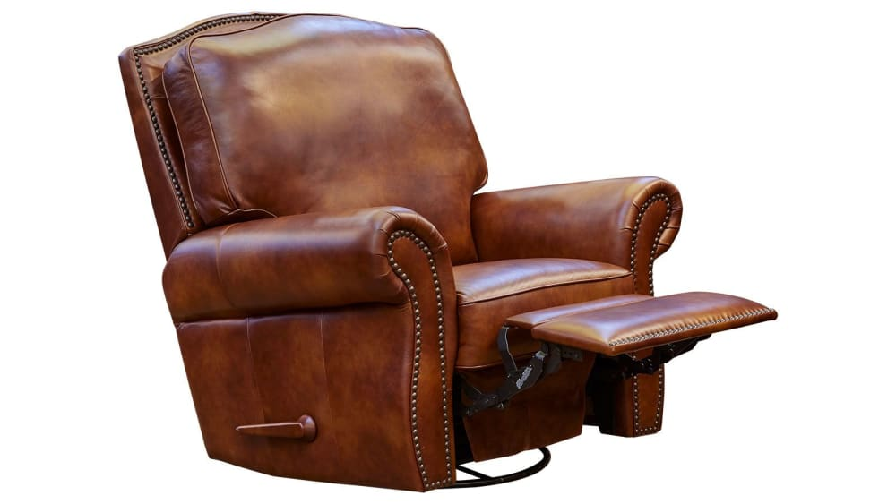 Navasota Leather Recliner, , hi-res