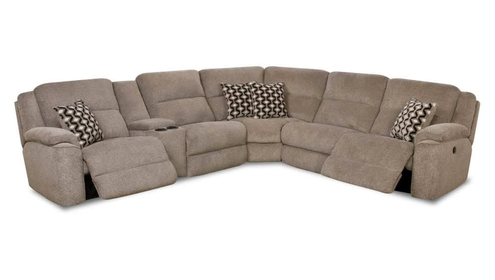 Catalina Left Side Powered Reclining Sectional