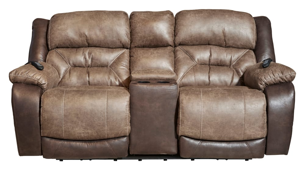 Pleasing Big Tex Power Reclining Loveseat W Console Ibusinesslaw Wood Chair Design Ideas Ibusinesslaworg