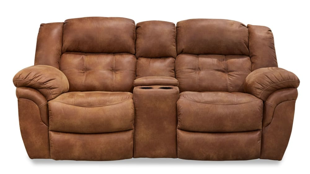 Marcelina Almond Reclining Loveseat