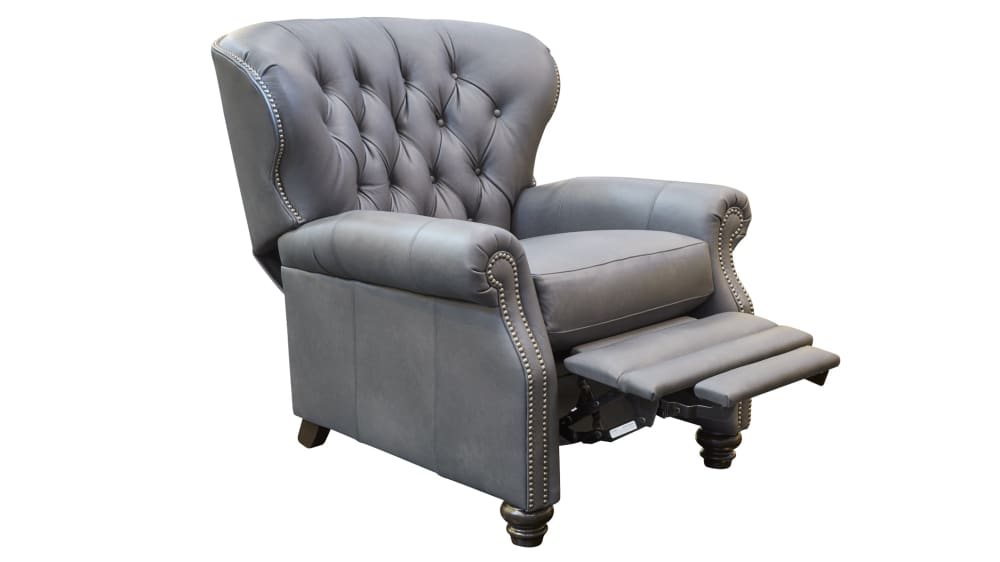 Hampton Grey Recliner, , hi-res