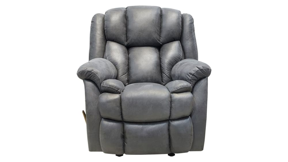 Road Runner Butte Grey Recliner