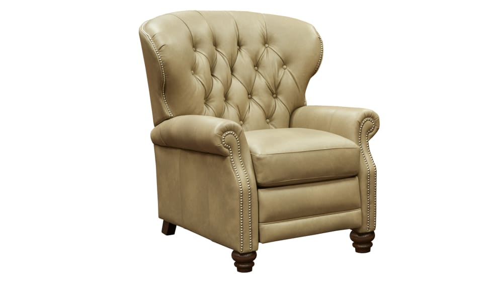 Hampton Taupe Recliner, , hi-res