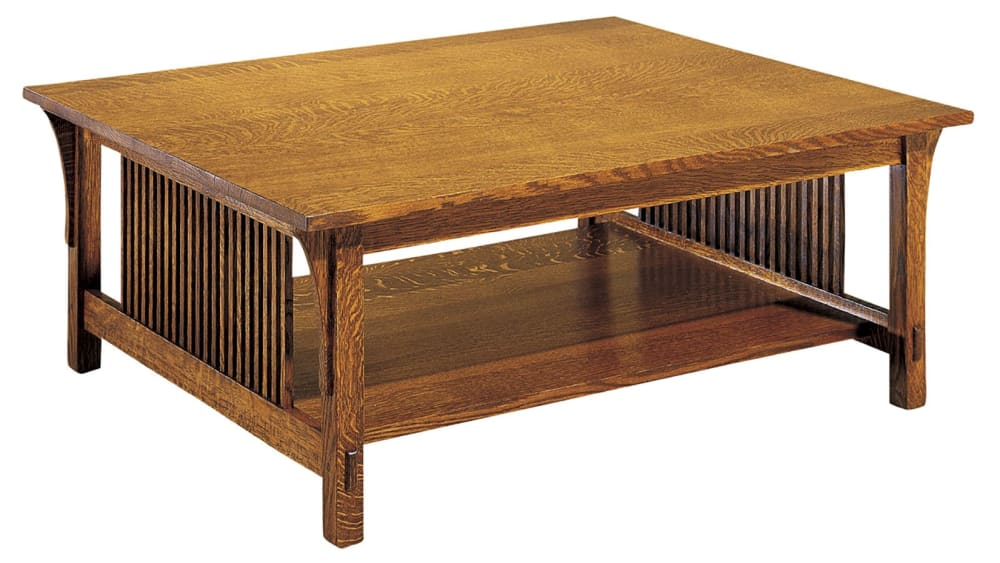 Stickley Mission Cocktail Table, , hi-res