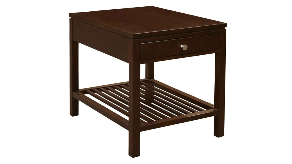Stickley Metropolitan Mocha End Table, , hi-res