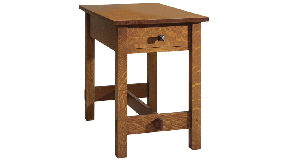 Stickley End Table With Drawer, , hi-res