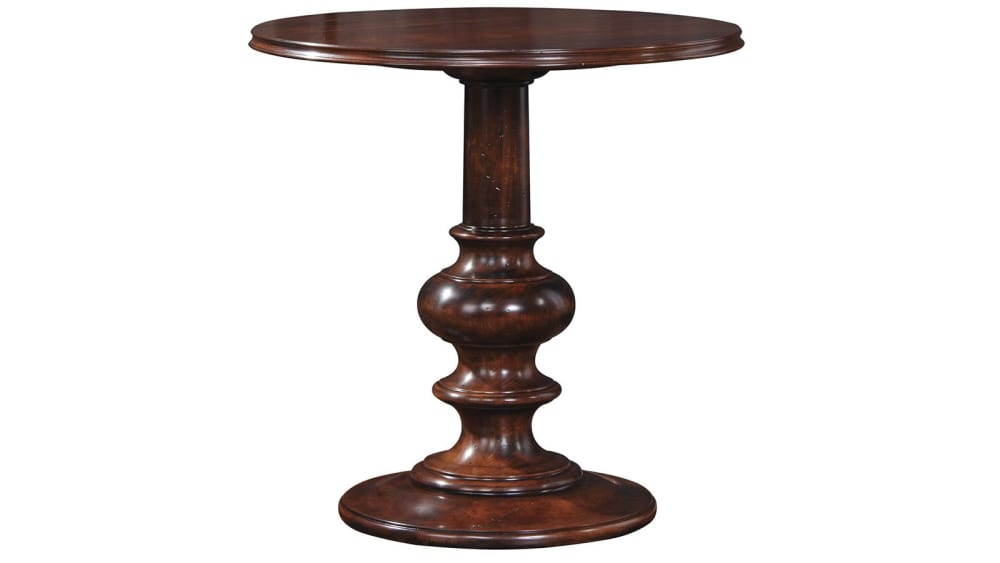 Stickley Classic Finger Lakes Avon Pedestal Table