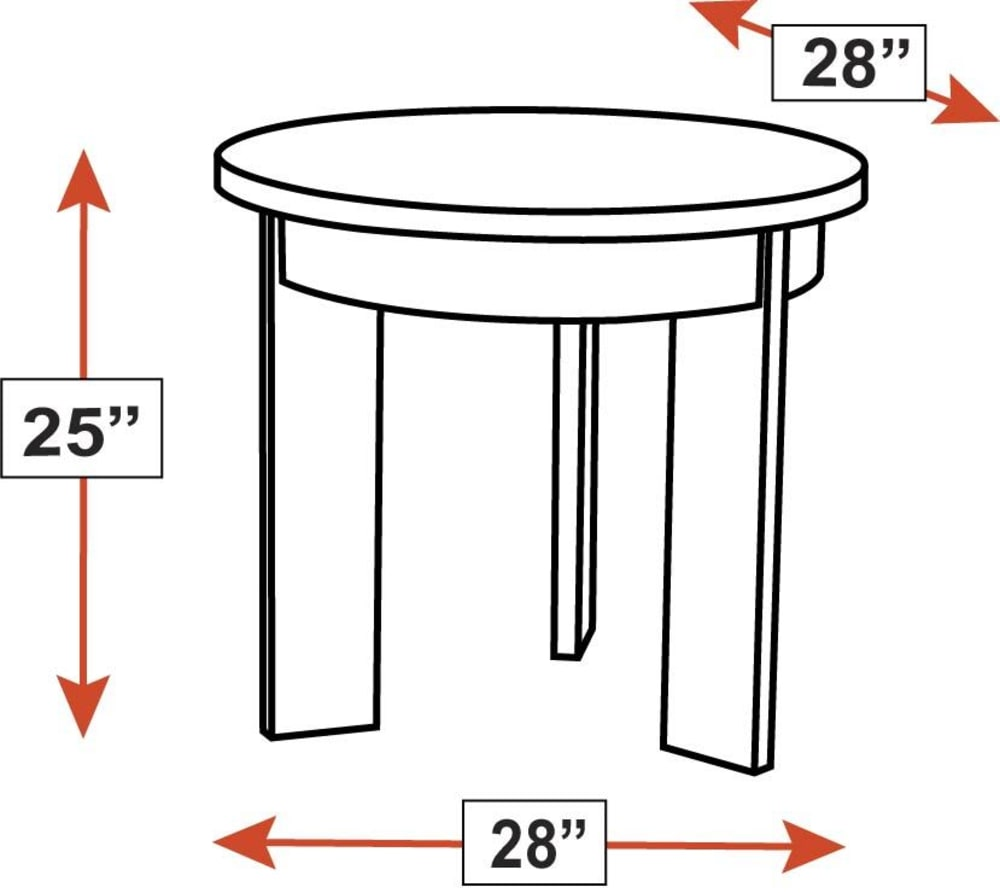 Stickley Modern Loft Round End Table